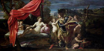 Mars and Venus before 1620 | Sisto Badalocchio | oil painting