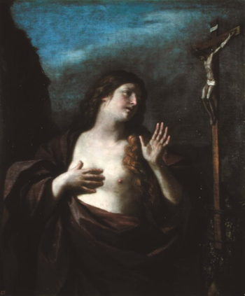 Mary Magdalene in Penitence | Guercino | oil painting