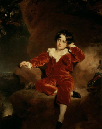 Master Charles William Lambton 1825 | Sir Thomas Lawrence | oil painting
