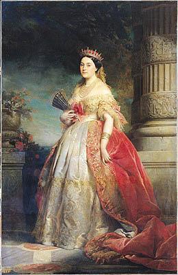Mathilde Laetitia Wilhelmine Bonaparte | Edouard Louis Dubufe | oil painting
