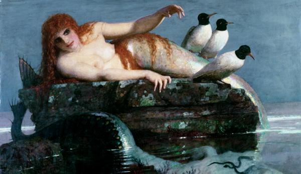 Meerestille | Arnold Bocklin | oil painting