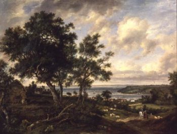 Meeting of the Avon and the Severn | Patrick Nasmyth | oil painting