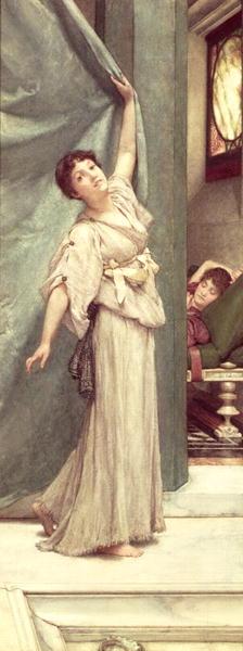 Midday Slumbers | Sir Lawrence Alma Tadema | oil painting