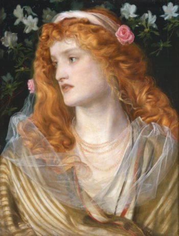Miranda 1868   Anthony Frederick Augustus Sandys   oil painting