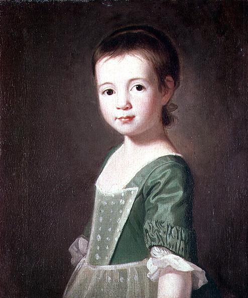 Miss Collingwood 1767 | George Romney | oil painting