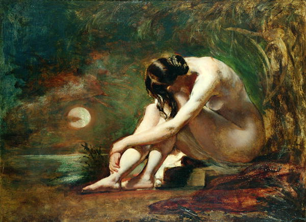 Moonlit Nude | William Etty | oil painting