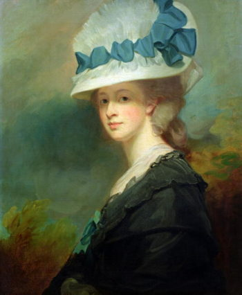 Mrs Musters | George Romney | oil painting