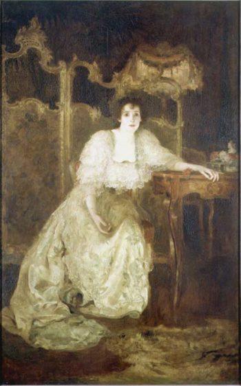 Mrs Patrick Campbell | Solomon Joseph Solomon | oil painting