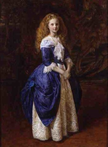My Great Grandmother 1865 | James Archer | oil painting