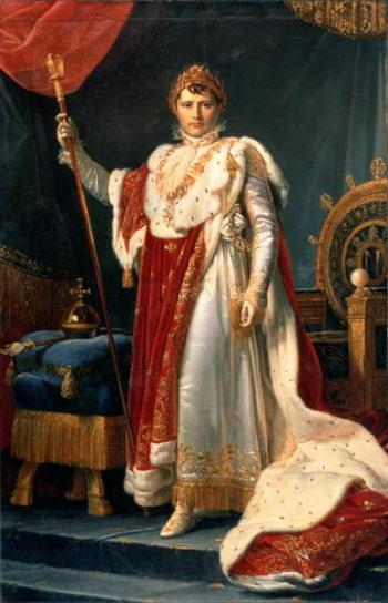 Napoleon Bonaparte | Francois Pascal Simon Baron Gerard | oil painting