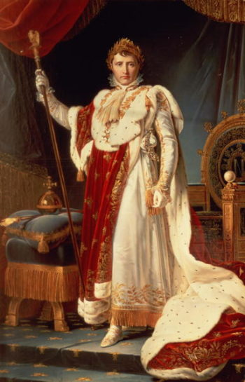 Napoleon in Coronation Robes 1804 | Francois Gerard | oil painting