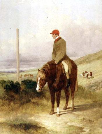 Nat Flatman | Harry Hall | oil painting