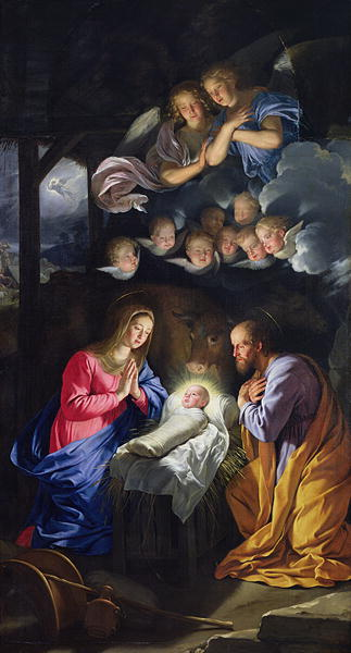 Nativity | Philippe de Champaigne | oil painting
