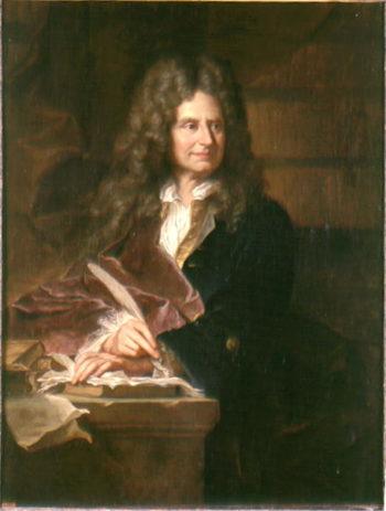 Nicolas Boileau | Hyacinthe Rigaud | oil painting
