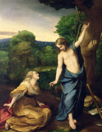 Noli Me Tangere 1534 | Correggio | oil painting