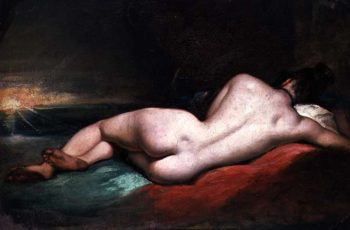 Nude Model Reclining | William Ett | oil painting