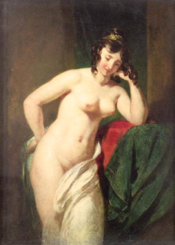 Nude | William Etty | oil painting