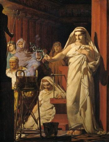 nvocation of Neptune 1866   Jean Jules Antoine Lecomte du Nouy   oil painting