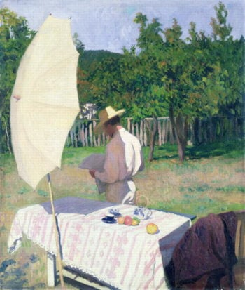October | Karoly Ferenczy | oil painting