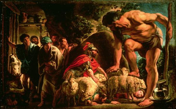 Odysseus | Jacob Jordaens | oil painting