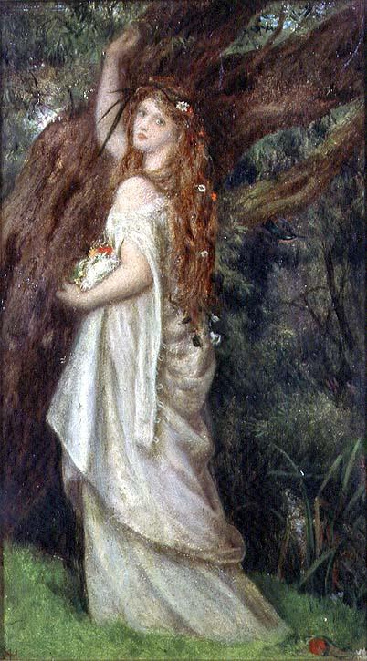 Ophelia | Arthur Hughes | oil painting