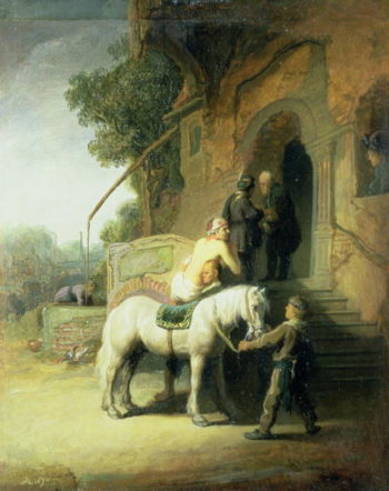 The Good Samaritan | Govaert Flinck | oil painting