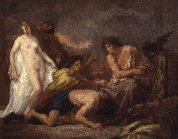 Timon of Athens 1857 | Thomas Couture | oil painting