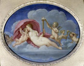P642 Venus and Cupid 1626 28 | Francesco Albani | oil painting