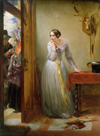 Palpitation 1844 | Charles West Cope | oil painting