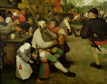 Peasant Dance 1568 | Pieter the Elder Brueghel | oil painting