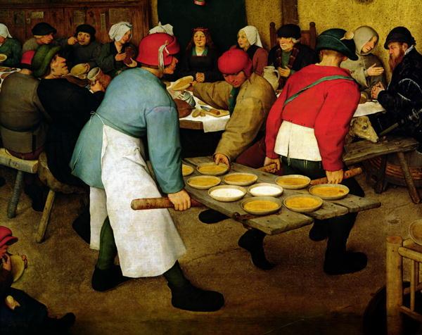 Peasant Wedding | Pieter the Elder Brueghel | oil painting