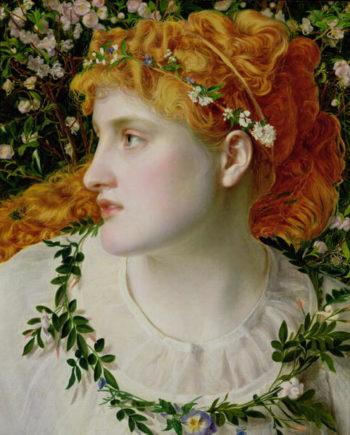 Perdita 1866   Anthony Frederick Augustus Sandys   oil painting