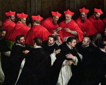 Pope Honorius III | Leandro da Ponte Bassano | oil painting