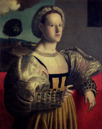 Portrait of a lady   Francesco Ubertini Verdi Bachiacca   oil painting