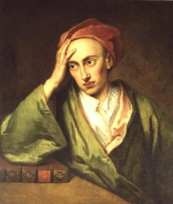 Portrait of Alexander Pope | Sir Godfrey Knelle | oil painting