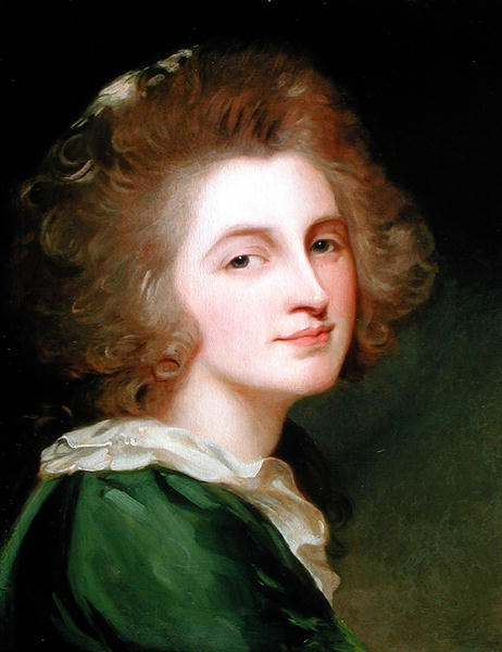 Portrait of Ann Barbara Russell | George Romney | oil painting
