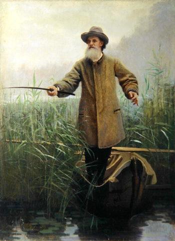 Portrait of Apollon Maikov | Ivan Nikolaevich Kramskoy | oil painting
