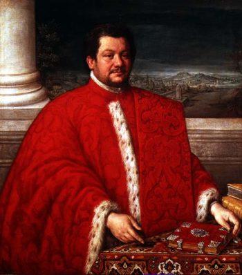Portrait of a Procurator of St Mark | Leandro da Ponte Bassano | oil painting