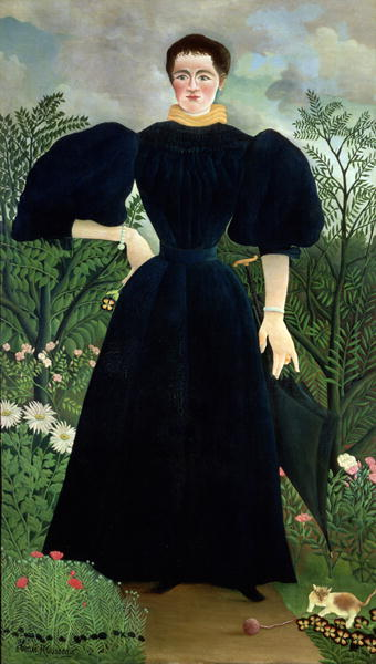 Portrait of a Woman 1895 97 | Henri J F Rousseau | oil painting