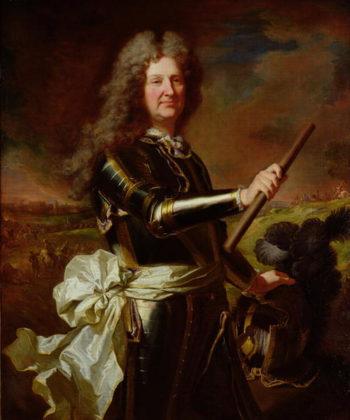 Portrait of Charles Auguste de Matignon Comte de Gace Marechal de France | Hyacinthe Rigaud | oil painting