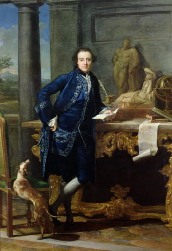 Portrait of Charles John Crowle | Pompeo Girolamo Batoni | oil painting