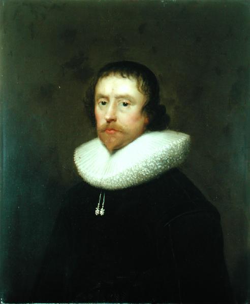 Portrait of Colonel Francis Hungate of Saxton 1640   Cornelis I Johnson   oil painting
