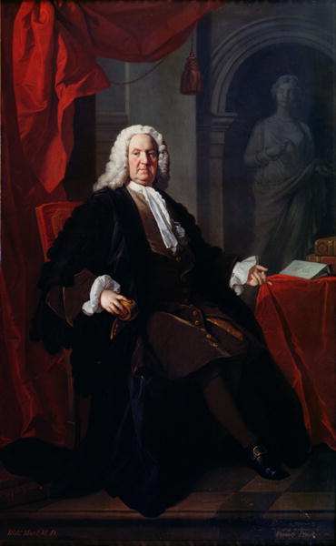 Portrait of Dr Richard Mead 1747 | Allan Ramsay | oil painting