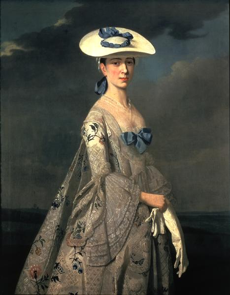 Portrait of Eleanor Frances Dixie 1753 | Henry Pickering | oil painting