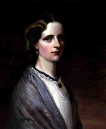 Portrait of Emily Mrs Meynell Ingram | H Taylor | oil painting