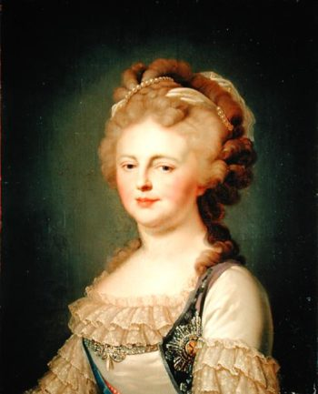 Portrait of Empress Maria Fyodorovna   Johann Baptist Edler von Lampi   oil painting