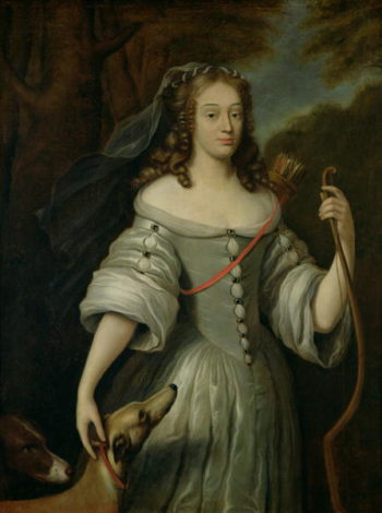 Portrait of Francoise Louise de la Baume le Blanc | Claude Lefebvre | oil painting