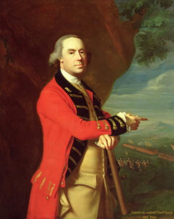 Portrait of General Thomas Gage 1768 | John Singleton Copley | oil painting