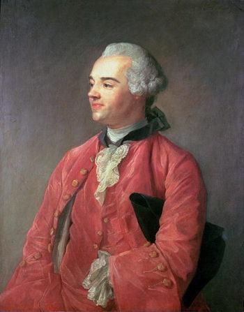 Portrait of Jacques Cazotte | Jean Baptiste Perroneau | oil painting
