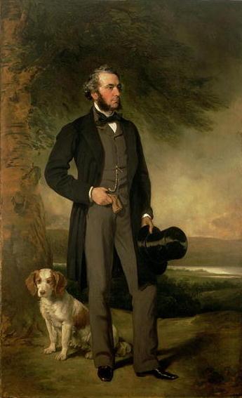 Portrait of John Hick Esq JP 1861 | Sir Francis Grant | oil painting